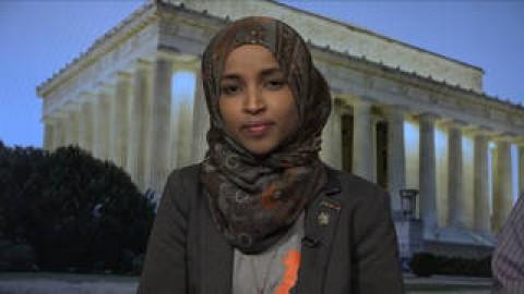 """Ilhan Omar, First Somali-American State Lawmaker: Trump's SOTU was """"Disgusting"""" & """"Fascist"""""""