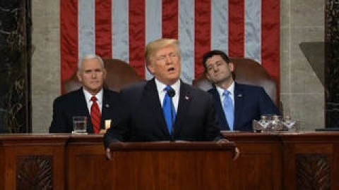 """Trump's """"Backward-Looking"""" Speech Ignores Climate Change, While Pushing for """"Beautiful, Clean Coal"""""""